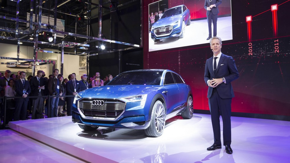 Audi insights at the CES 2016