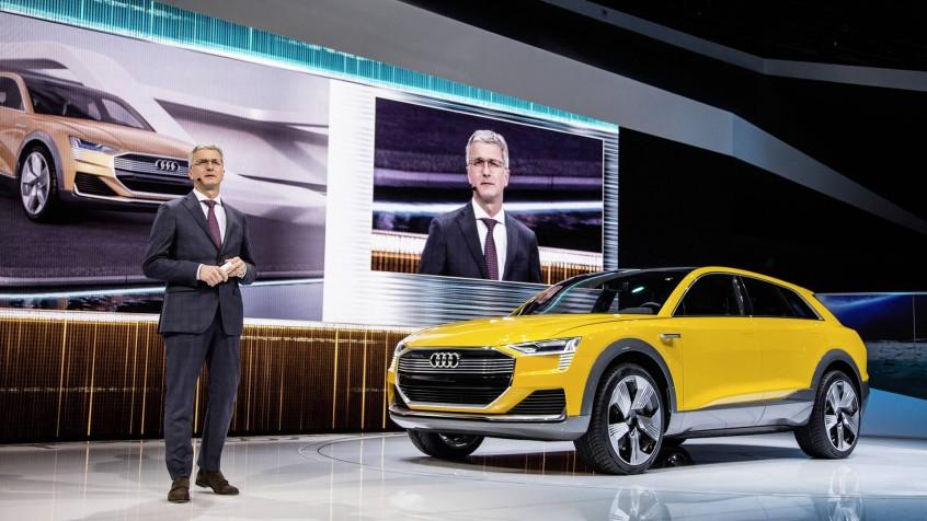 Audi h-tron quattro concept - World Premier NAIAS 2016