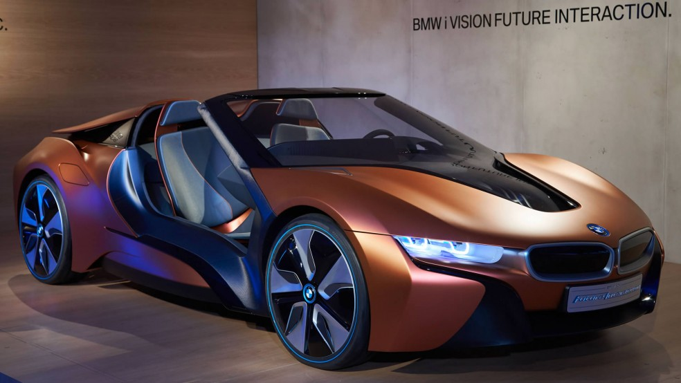 BMW's Spyder concept CES 2016
