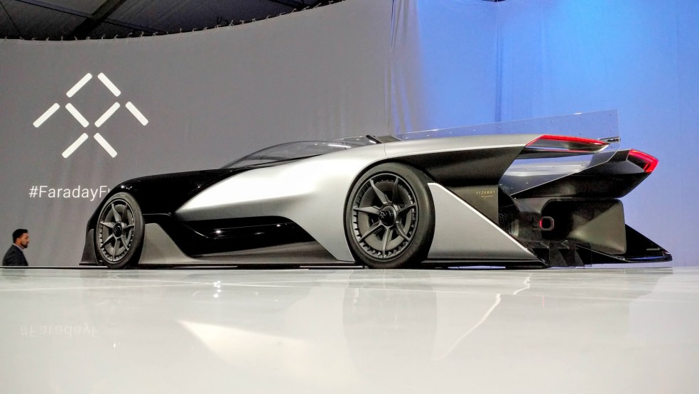 Faraday Future FFZERO1 Concept vehicle