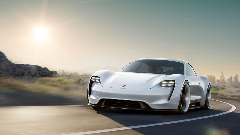 Porsche Mission E - World Debut IAA 2015