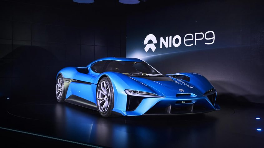 Nio EP9 1.341hp World's Fastest Electric Supercar