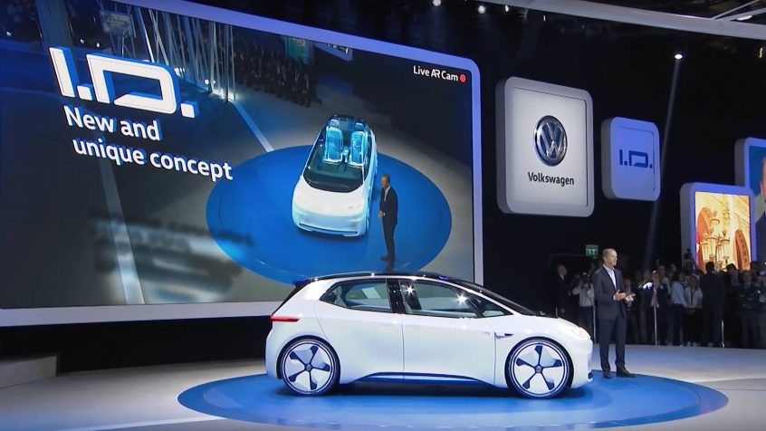 Volkswagen Press Conference Paris Motor Show 2016