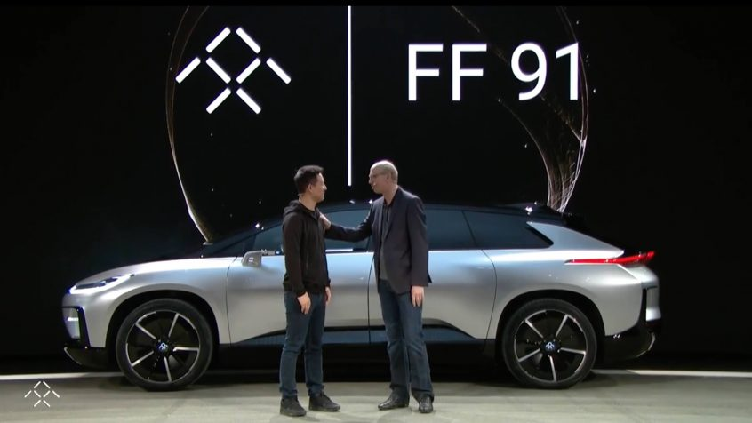 "Faraday Future ""FF 91"" full presentation from CES 2017"
