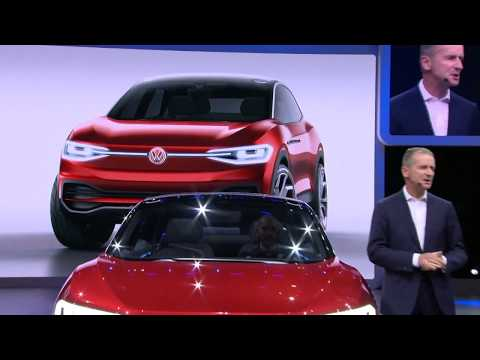 Volkswagen Press Conference IAA 2017