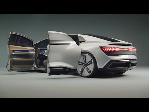 Audi Aicon Concept – interior Exterior and Drive