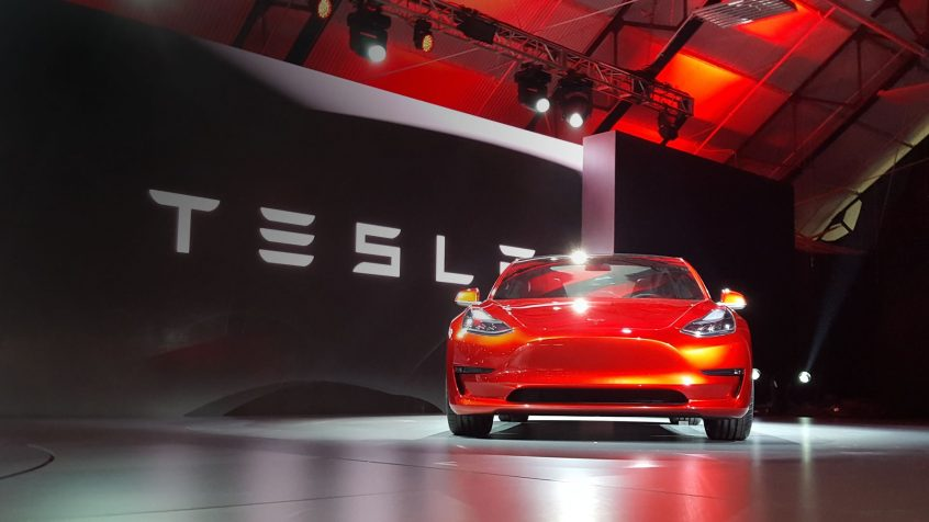 First Tesla Model 3 Handovers