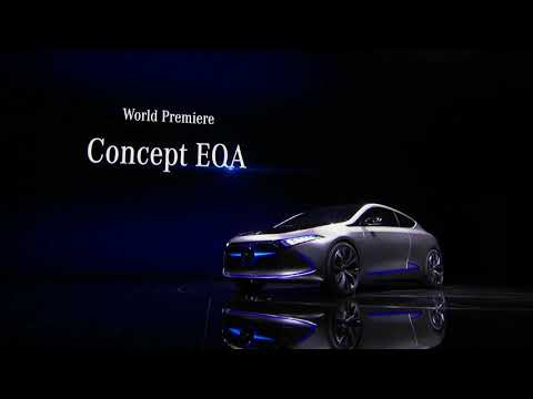 Mercedes-Benz Concept EQA – Press Conference