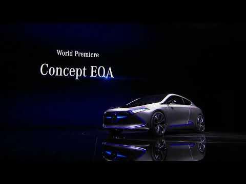 Mercedes-Benz Concept EQA – Press Conference