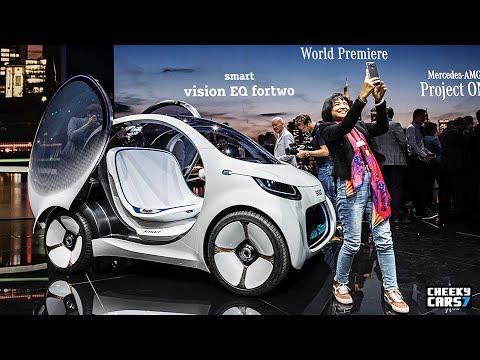 2018 smart vision EQ fortwo – IAA 2017