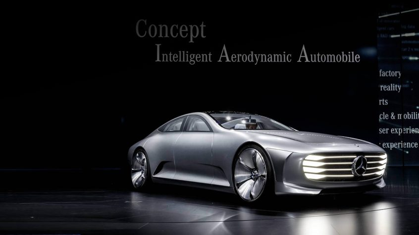 "World Premiere – Mercedes-Benz ""Concept IAA"""