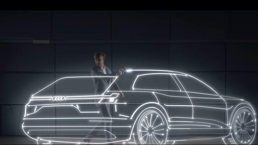 Teaser: Audi e-tron quattro concept